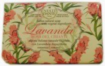 Levendula,Rosa del Chianti szappan 150g