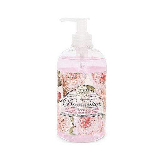 Romantica,florentine rose and peony folyékony szappan 500ml