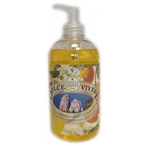 Dolce Vivere,Capri folyékony szappan 500ml