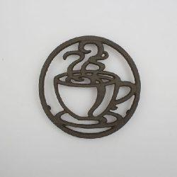 DAK.LS088 Öntöttvas edényalátét csészés,18cm
