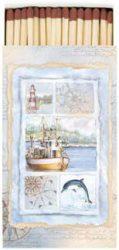 Maritime Card gyufa 6,5x11cm