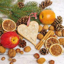 AMB.33304935 Cosy Autumn papírszalvéta 33x33cm,20db-os