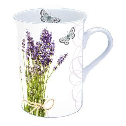 Bunch of Lavender porcelánbögre dobozban 0,25l