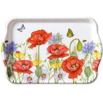 Summertime white műanyag kistálca 13x21cm