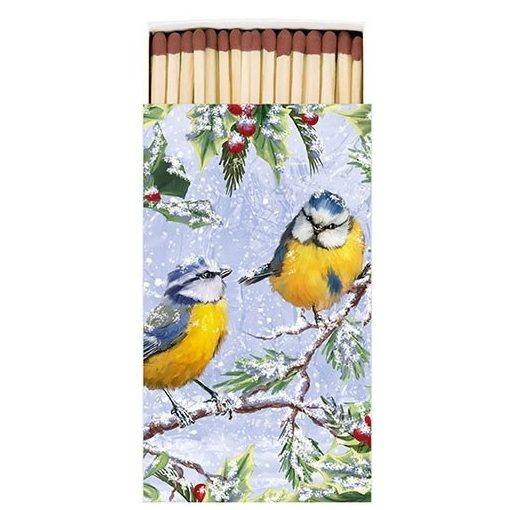 Chirping Birds gyufa 6,5x11cm