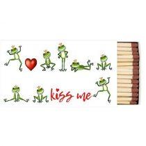 Kiss Me gyufa 6,5x11cm