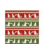 Sleigh Ride papírszalvéta 25x25cm,20db-os