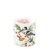 Chickadee átvilágítós gyertya 8x7,5cm