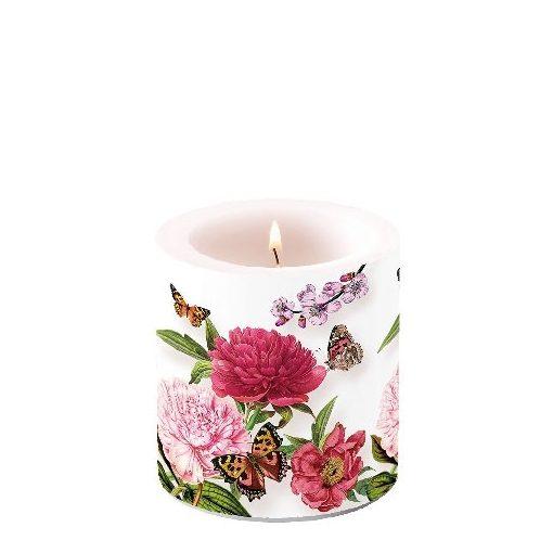 Peonien White átvilágítós gyertya 8x7,5cm