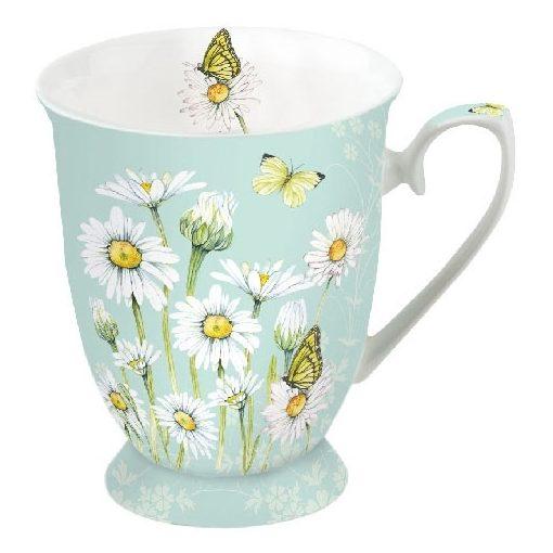 Daisy Green porcelánbögre 0,25l