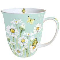 Daisy Green porcelánbögre 0,4l