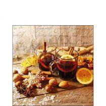 Glühwein papírszalvéta 25x25cm, 20db-os