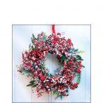 AMB.32514625 Frozen Wreath papírszalvéta 25x25cm, 20db-os