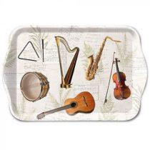 Music műanyag kistálca 13x21cm