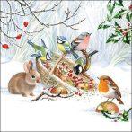 AMB.33314660 Winter Treat papírszalvéta 33x33cm, 20db-os