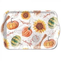 Pumpkins & Sunflowers műanyag kistálca 13x21cm