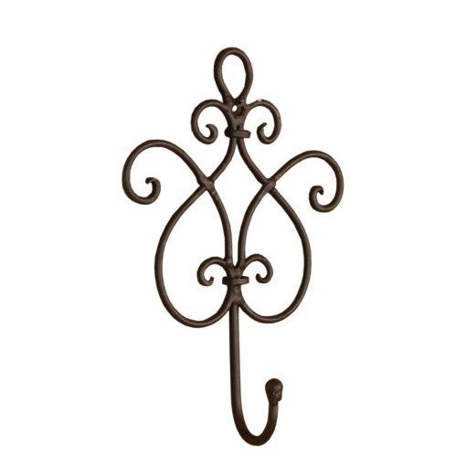Falifogas 15x5x22cm, fém,barna