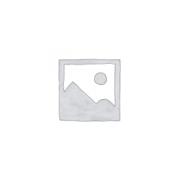 Fa lámpatest 12x12x39cm,bordázott fehér