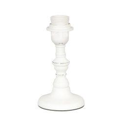Fa lámpatest fehér,10x20cm