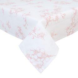 Asztalterítő 100x100cm, pamut, Lovely Blossom Flowers