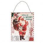 CLEEF.6Y2486 Fémkép 15x0,5x19cm, Merry christmas