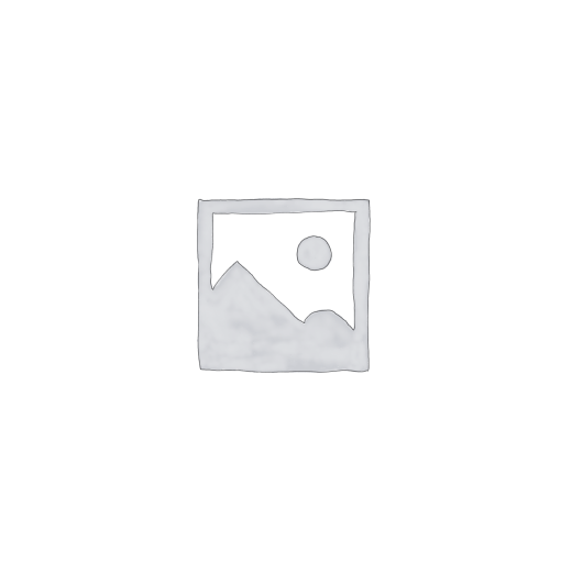 Ékszertartó baba 8x8x33cm, fehér-kék mintás, műanyag/fém