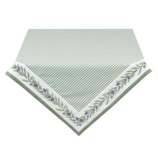 Asztalterítő 150x250cm, pamut, Olive Garden