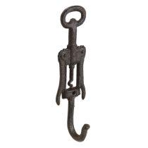Öntöttvas falifogas barna 5x4x20cm,dugóhúzó