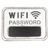 CLEEF.6Y3078 Fa falitábla,Wi-Fi Password 39x29x1cm,