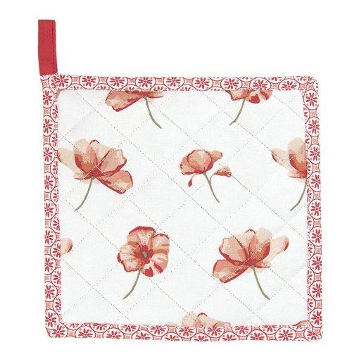 Edényalátét 20x20cm pamut,Poppy Flowers