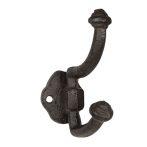 CLEEF.6Y3910 Öntöttvas egyszerű falifogas 4x7x10cm