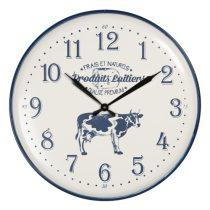 Fém falióra 62cm, kék bocis
