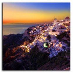 Görög tájkép - 100x100cm