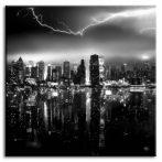 New York fali kép - 80x80cm