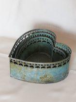 Antikolt fém kaspó