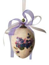 Húsvéti tojás ibolyával