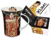 Porcelánbögre Klimt dobozban, 350ml, Klimt:Hygeia