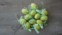 Szalagos zöld tojás szett