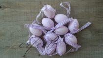 Szalagos lila tojás szett